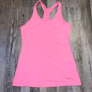 Nike hot pink dri fit tank top